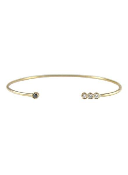 jennie kwon designs four bezel cuff bracelet
