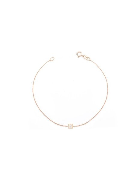hortense square perle bracelet