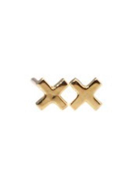 grace lee designs x earrings