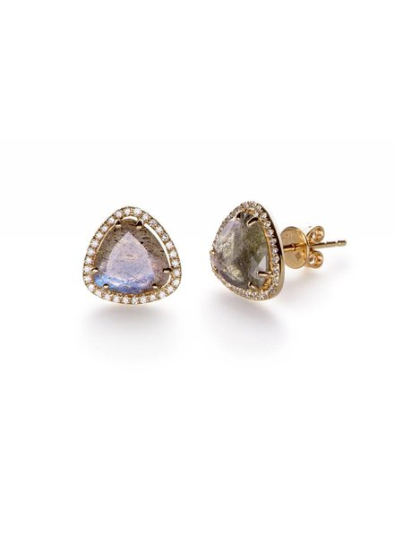 ef collection diamond labradorite slice stud