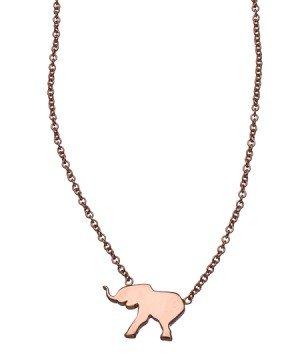 ariel gordon elephant shaped menagerie necklace