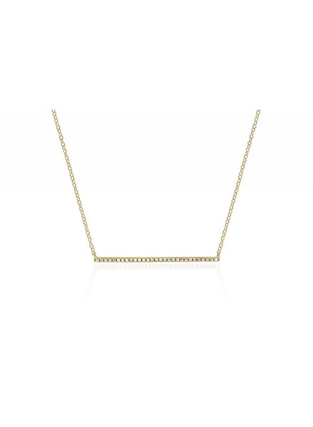 ef collection diamond bar necklace