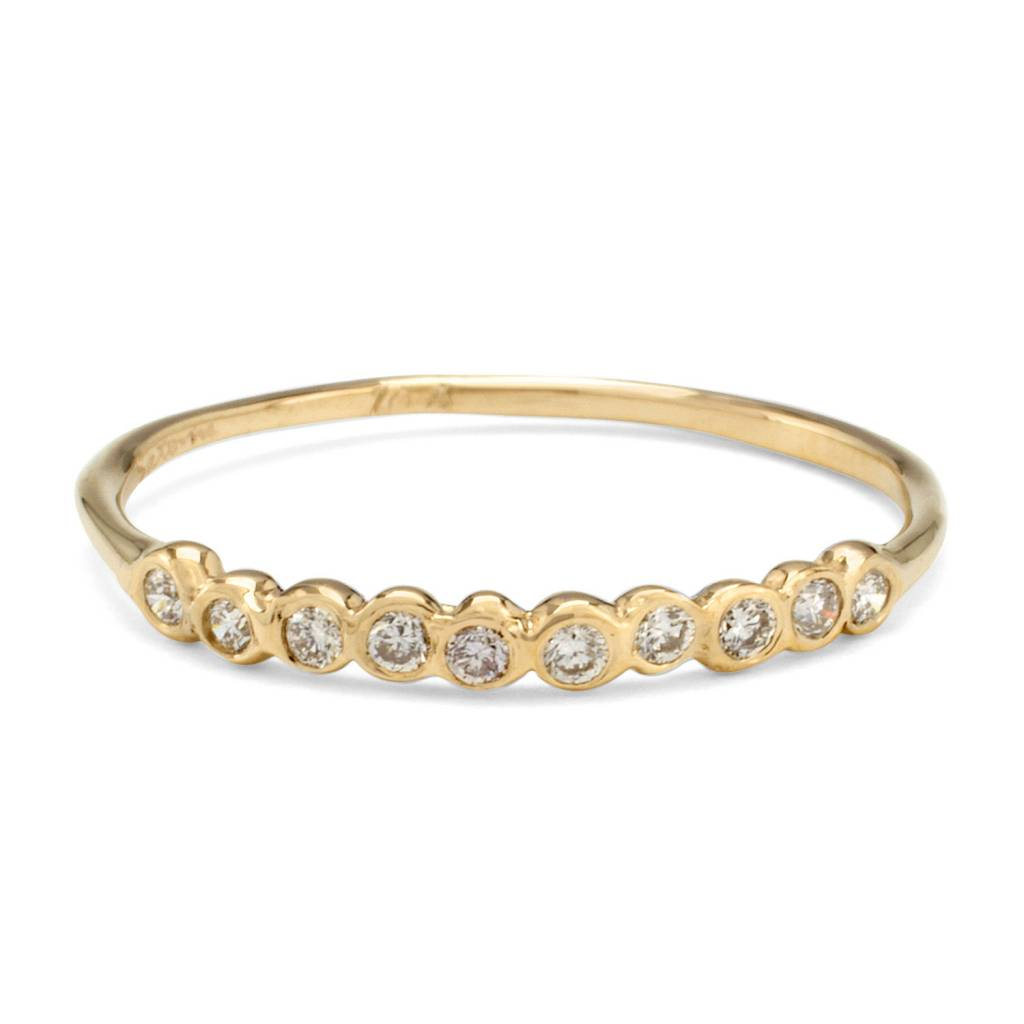 satomi kawakita jewelry ten diamond ring