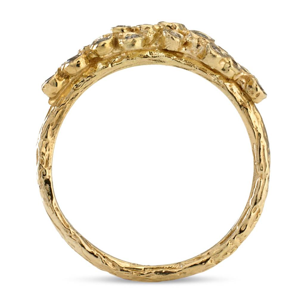 satomi kawakita jewelry diamond seed cluster ring