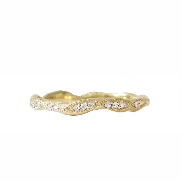 misa jewelry wave eternity ring