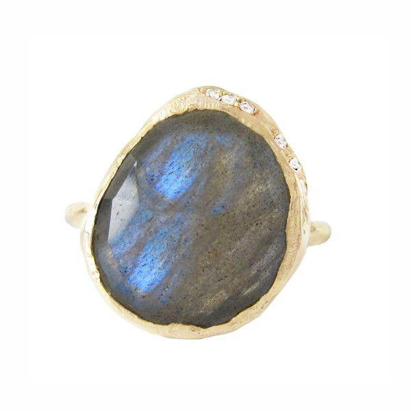 misa jewelry labradorite cove ring
