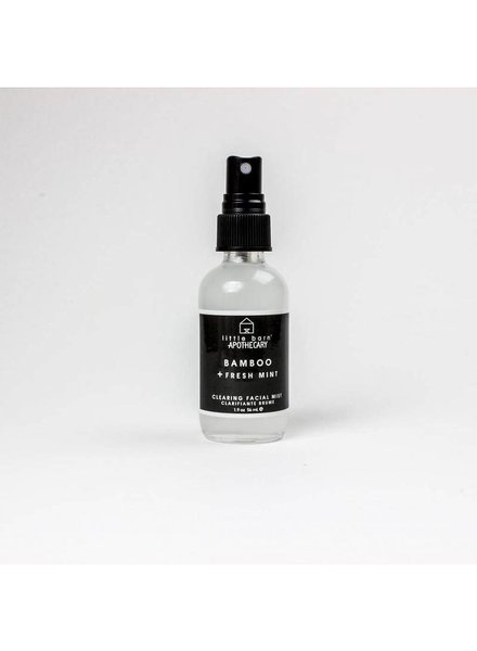 little barn apothecary mist bamboo + fresh mint