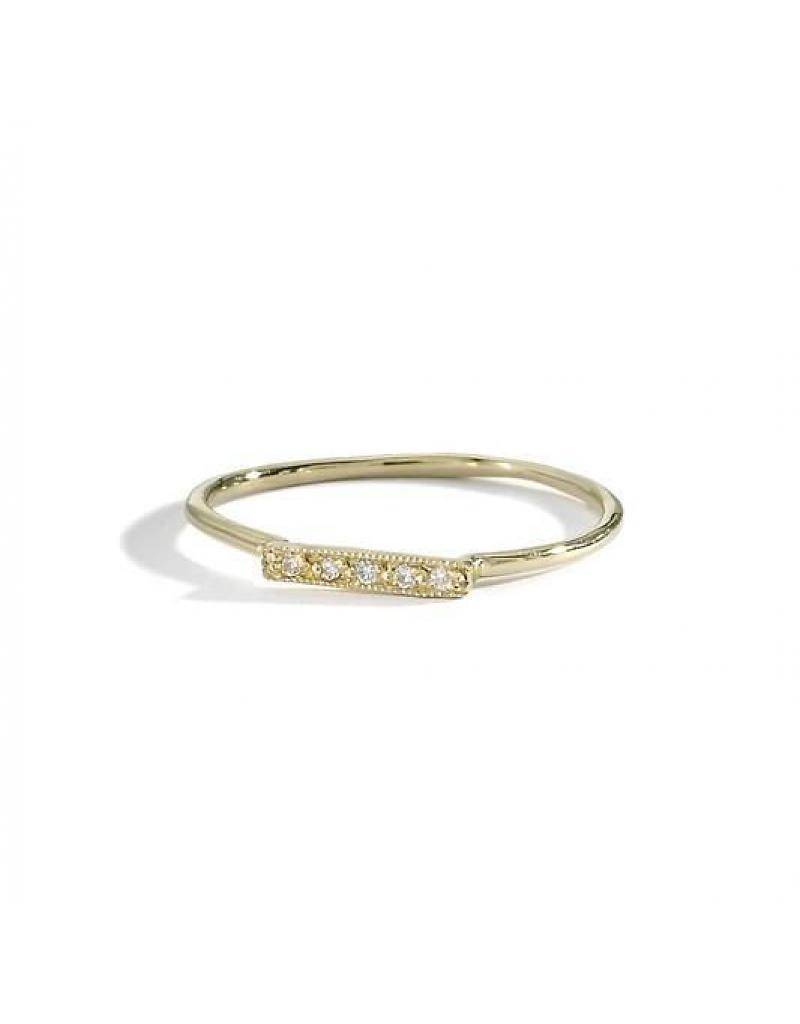 blanca monros gomez dainty stacking ring
