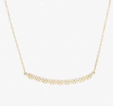 grace lee designs petite lace necklace