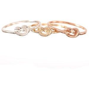 ariel gordon love knot ring