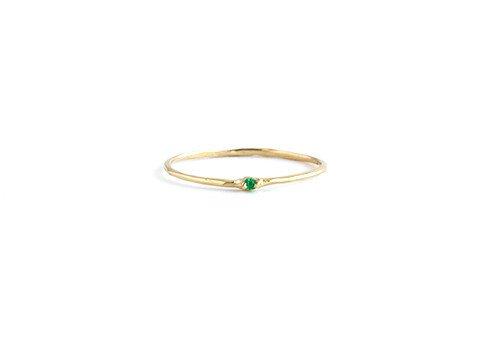 grace lee designs emerald whisper ring