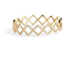 grace lee designs beaded diamond eternity ring