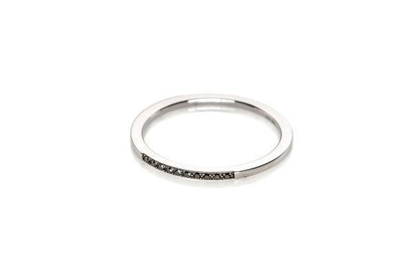 ef collection diamond segment stack rings