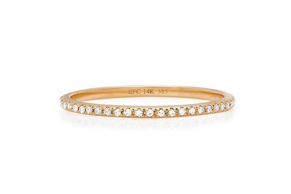 ef collection diamond eternity bands