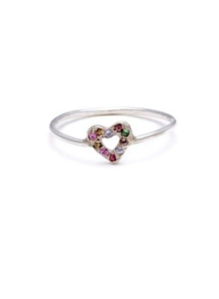 elisa solomon tiny open heart ring