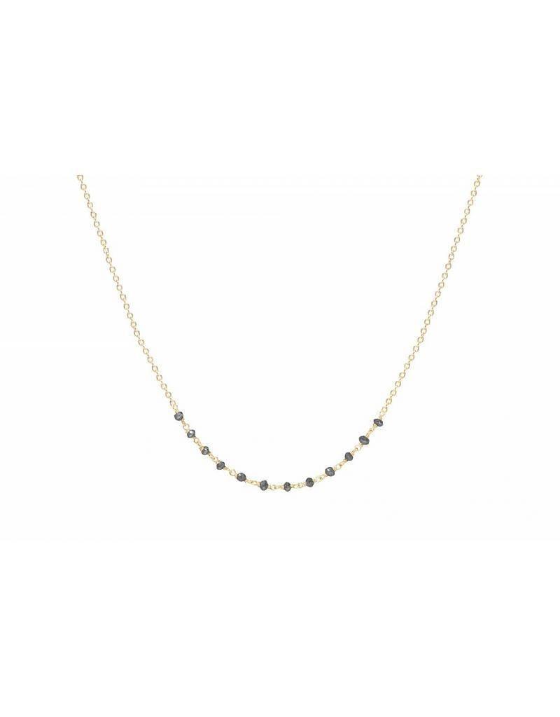 jennie kwon designs black diamond arc necklace