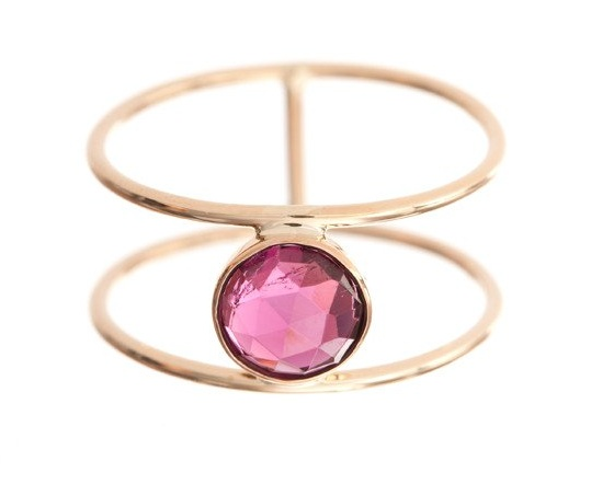 ariel gordon rose cut balance ring