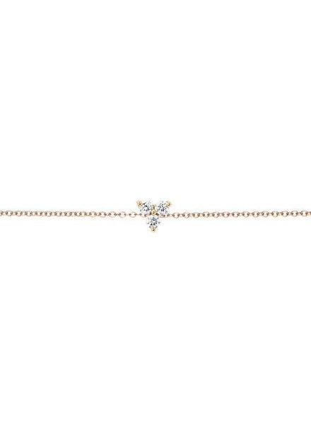 ef collection diamond trio chain bracelet