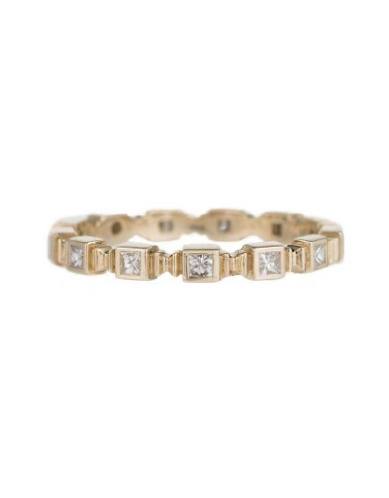 jennie kwon designs square diamond eternity band