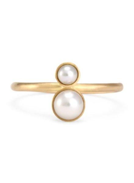 satomi kawakita jewelry double pearl ring