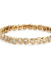 satomi kawakita jewelry small diamond circle eternity band