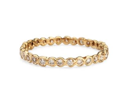 satomi kawakita jewelry small diamond circle eternity band