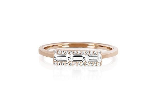 ef collection baguette bar stack ring