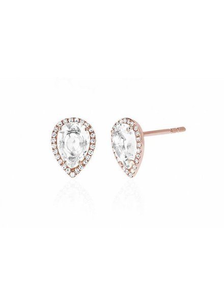 ef collection tear drop stud