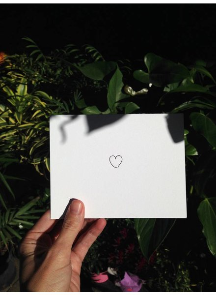 "tiny bones press ""love"" card"