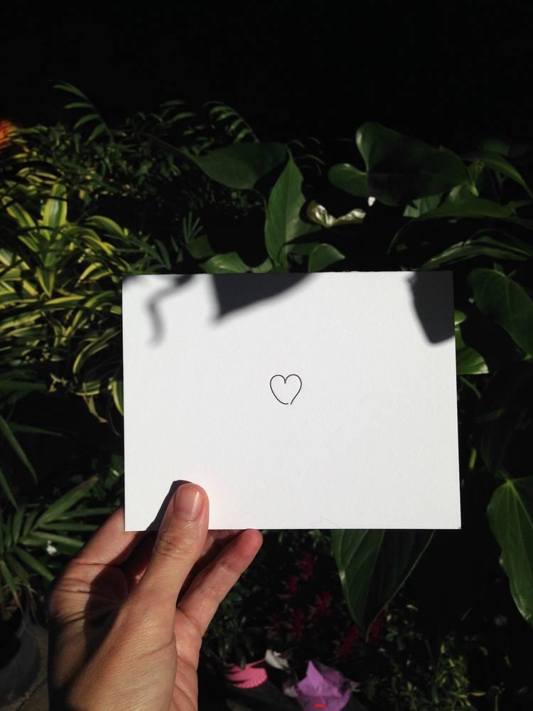 "tiny bones press ""love"" card"