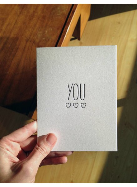 "tiny bones press ""you"" card"