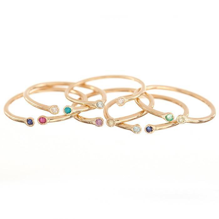 ariel gordon dual birthstone ring