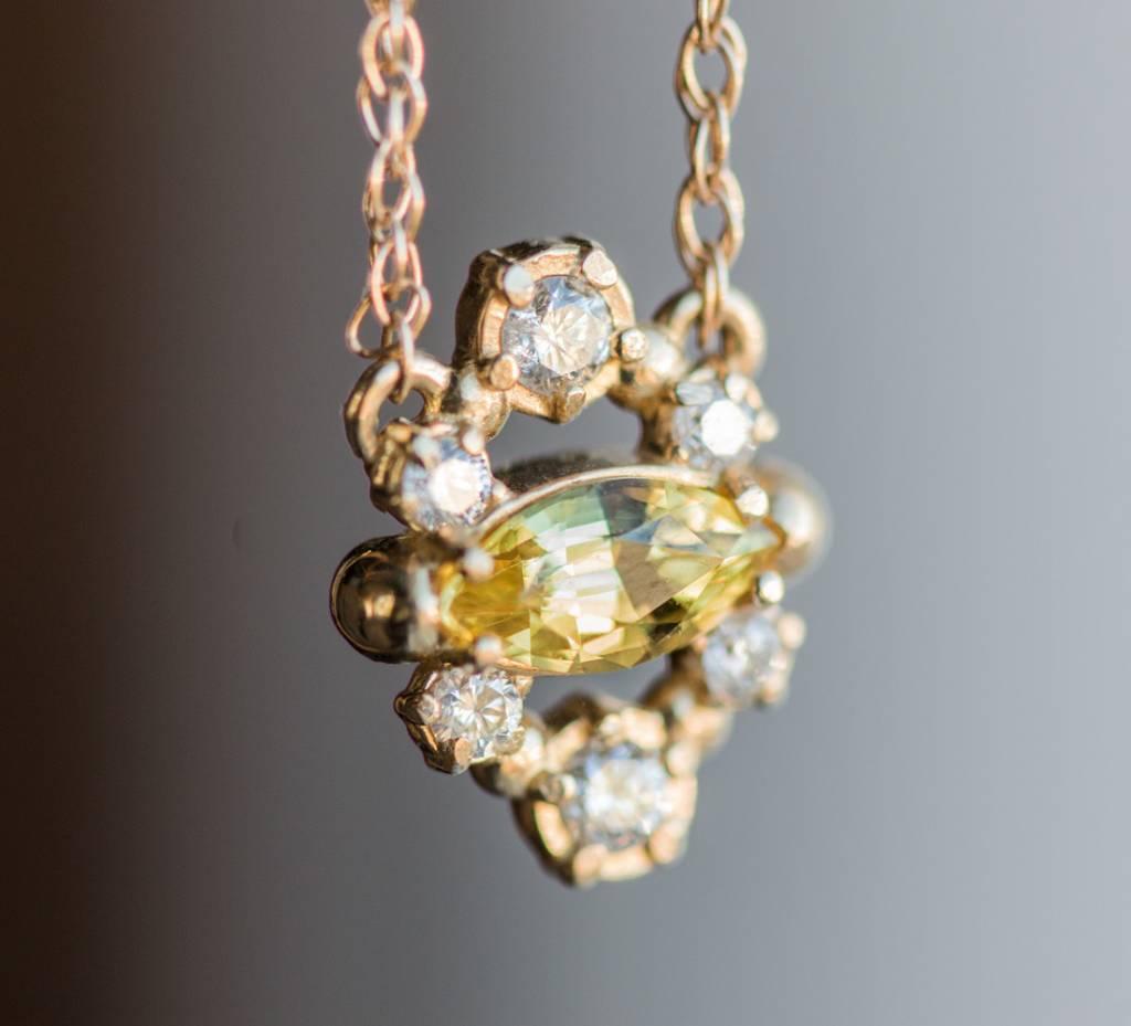 melanie casey jewelry fresh squeezed necklace