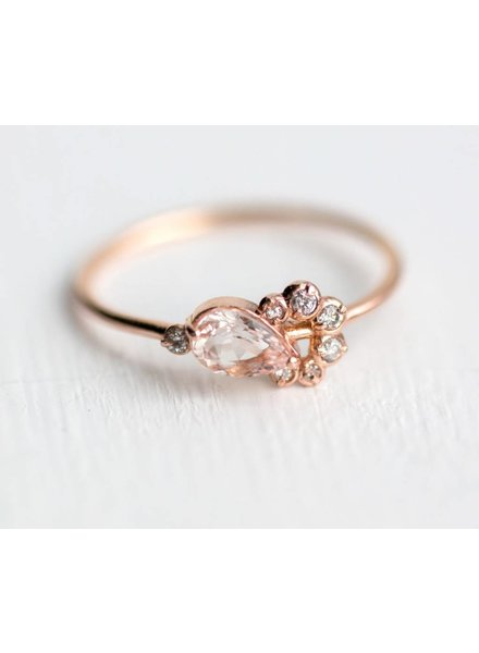 melanie casey jewelry morganite shortcake ring