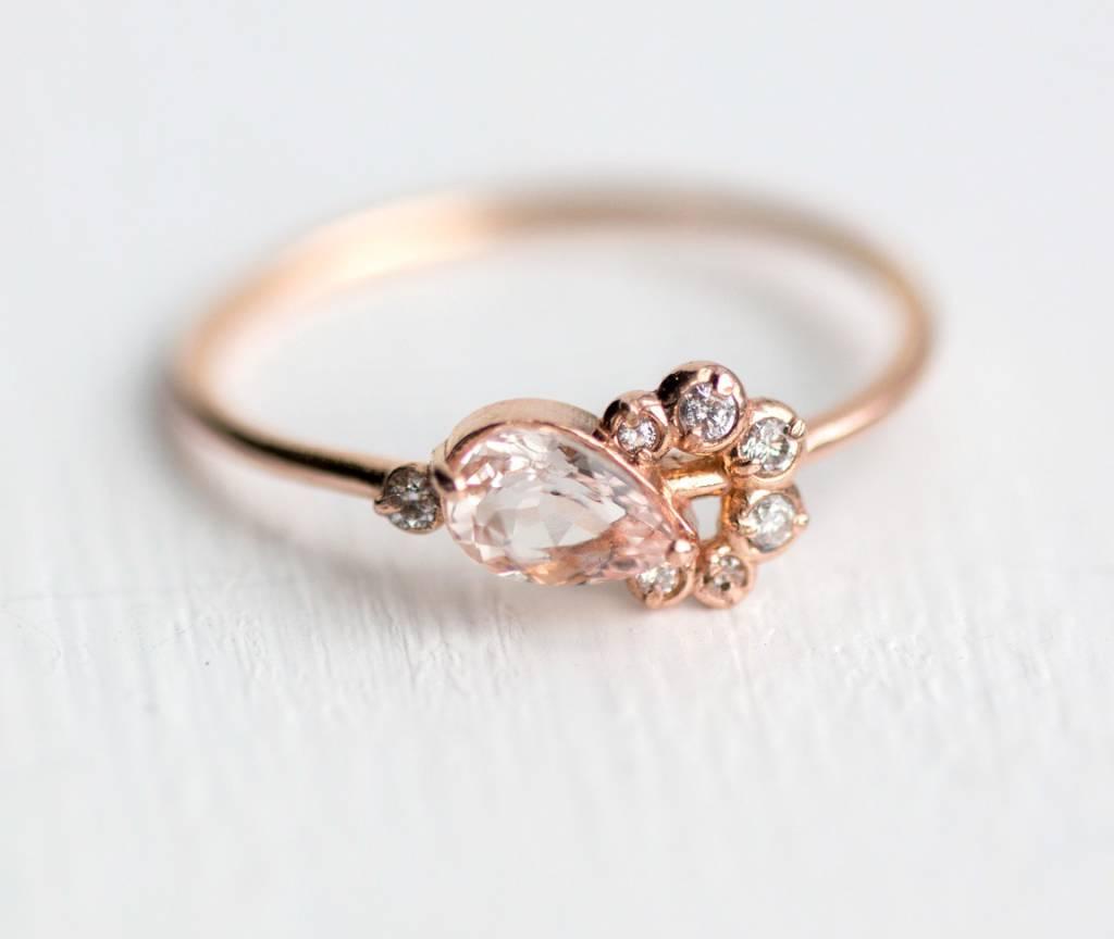 melanie casey jewelry morganite shortcake ring