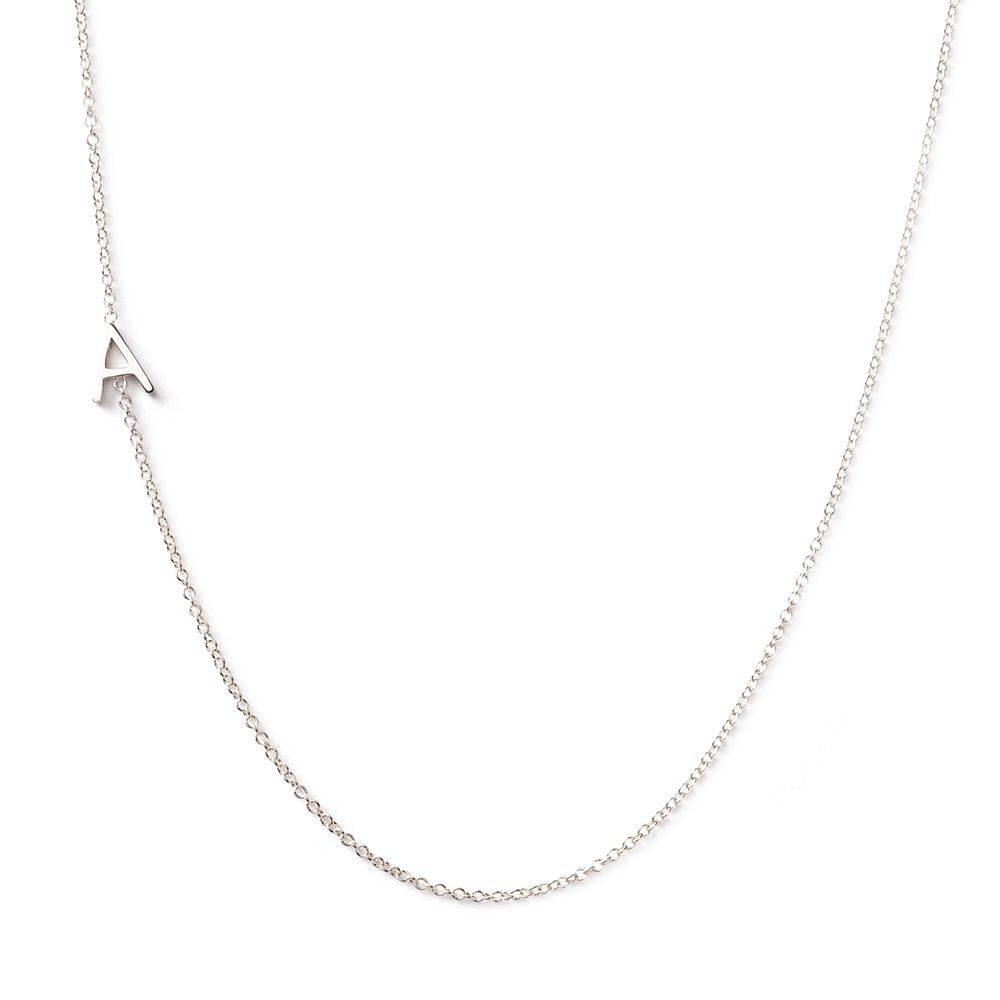 maya brenner designs letters necklace