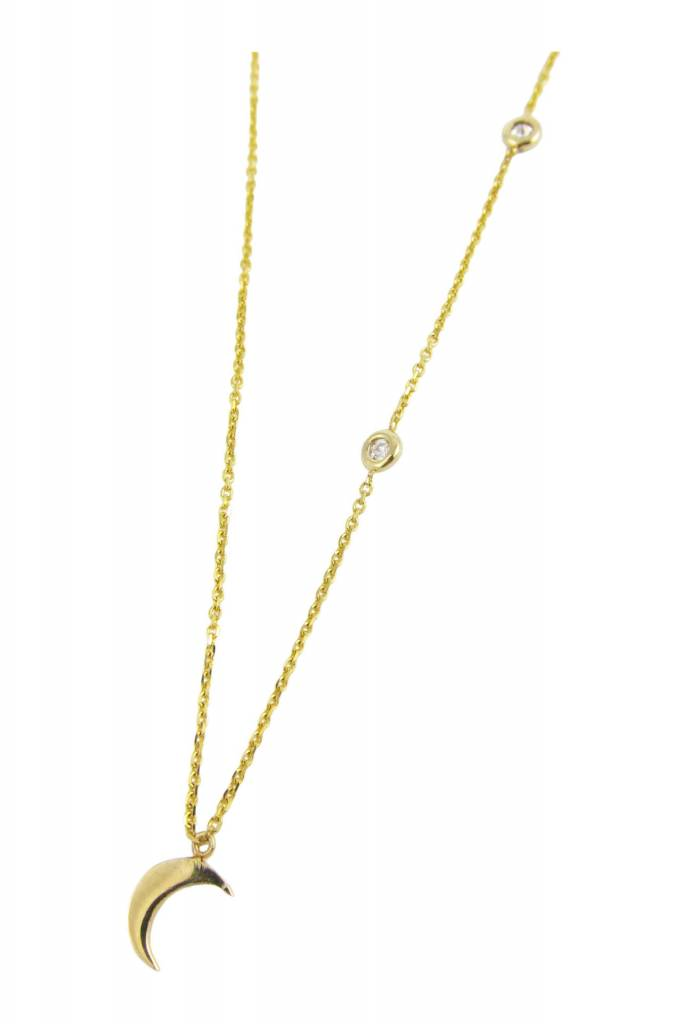jennie kwon designs moon and stars necklace