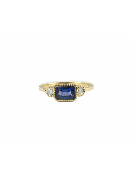jennie kwon designs tanzanite lexie ring