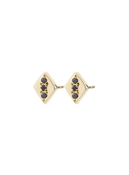aili jewelry rhombus earrings