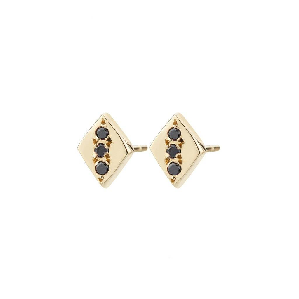 aili jewelry rhombus earring - single