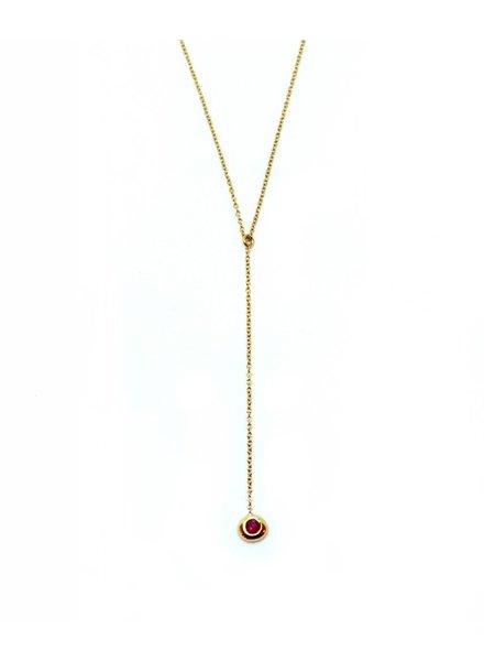 aili jewelry birthstone lariat