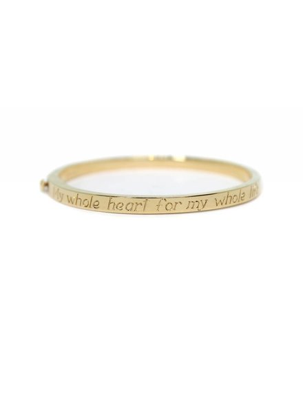 ariel gordon poesy signet bangle
