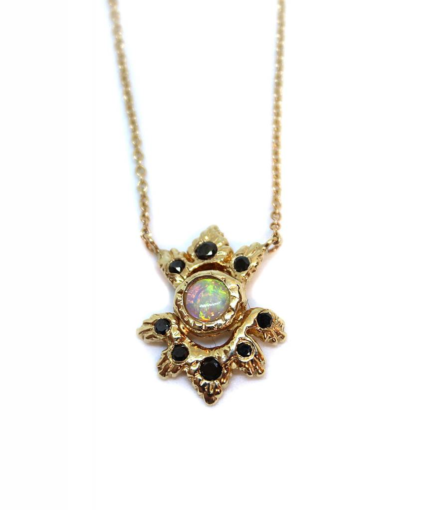 communion by joy Light Burst Necklace