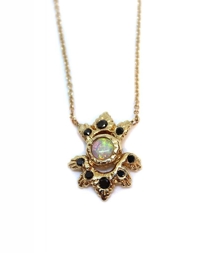 communion by joy Light Burst Necklace