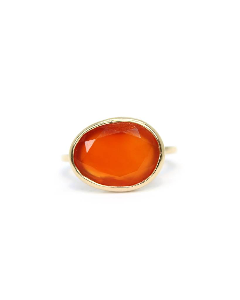 liz philips leila ring - carnelian