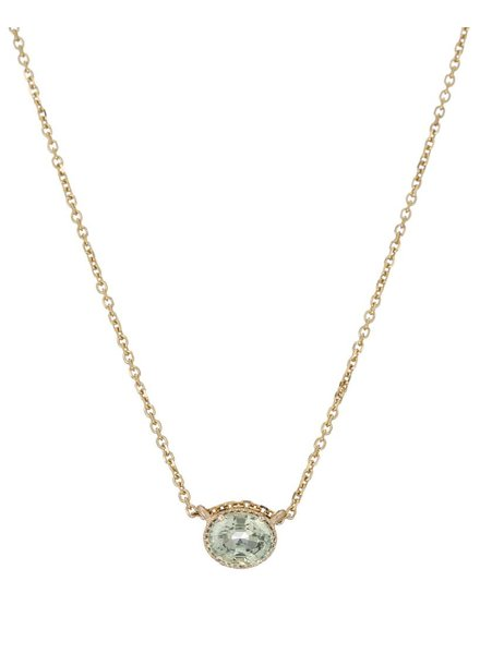 jennie kwon designs green sapphire hope necklace