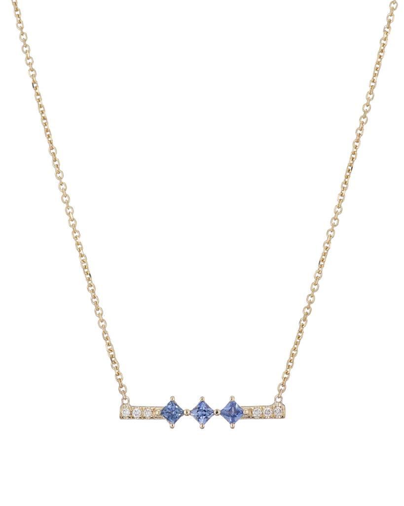 jennie kwon designs sapphire harmony necklace