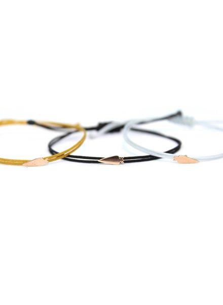 hortense carotte cord bracelet