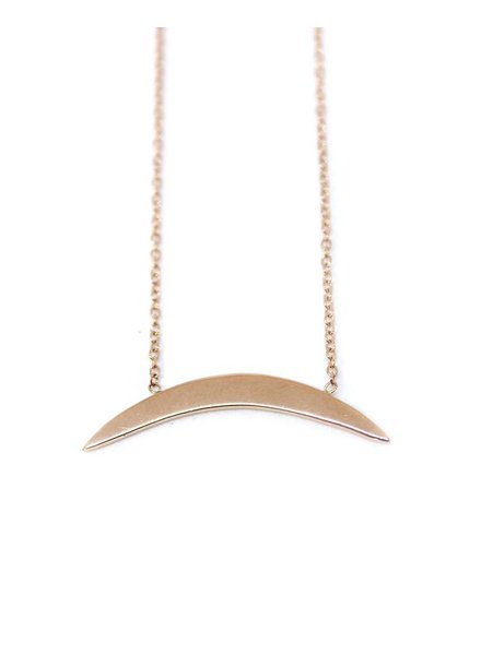 ariel gordon arc geo necklace