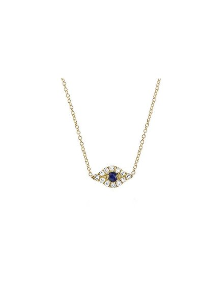 ef collection diamond evil eye choker